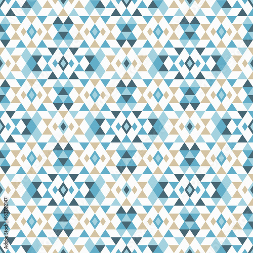 Photo sur Aluminium Style Boho Ethnic boho seamless pattern. Tribal art print, repeatable background. Retro motif. Vector illustration. Textile rapport.