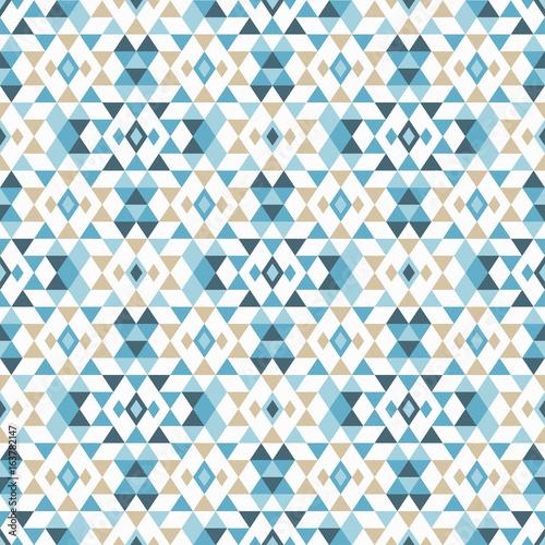 Photo sur Toile Style Boho Ethnic boho seamless pattern. Tribal art print, repeatable background. Retro motif. Vector illustration. Textile rapport.