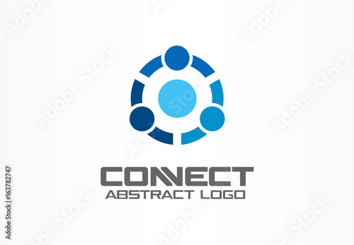 Photographie  Abstract logo for business company