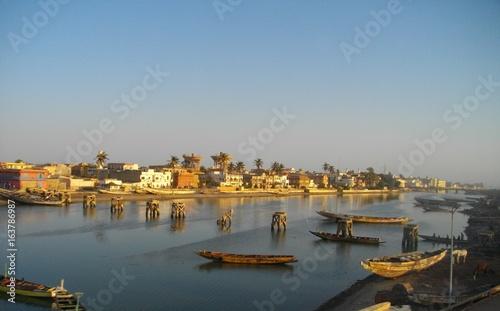 Photo Fleuve Saint-Louis, Sénégal