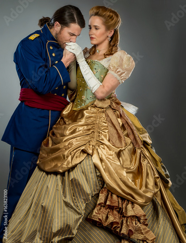 Cuadros en Lienzo Civil War Couple