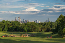 Philadelphia Viewed From The Belmont Plateau