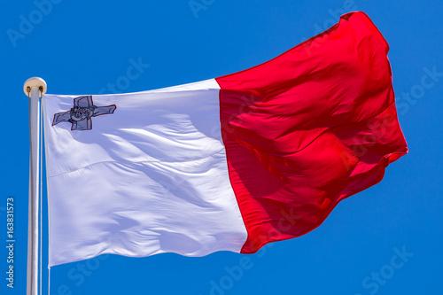 Plakat Flaga Malty