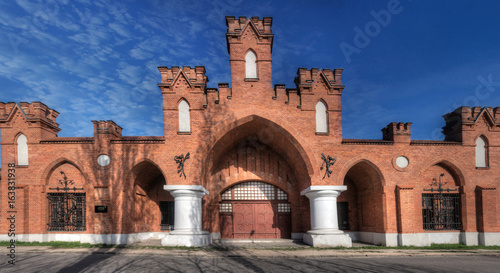Grohman's Gate in Lodz