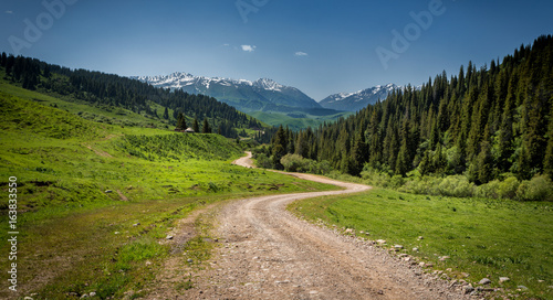 road to the mountains #163833550