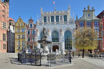 Fototapeta na wymiar Old town of Gdansk.
