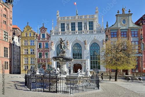 Obrazy na płótnie Canvas Old town of Gdansk.