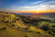 Crickley Hill At Sunset, Cotsw...