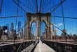 Brooklyn Bridge, Manhattan, New-York