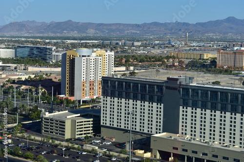 Obraz na dibondzie (fotoboard) Las Vegas, Nevada - USA - czerwca 05,2017 - Widok Las Vegas Strip w stanie Nevada