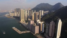 Hong Kong Aerial V184 Flying O...