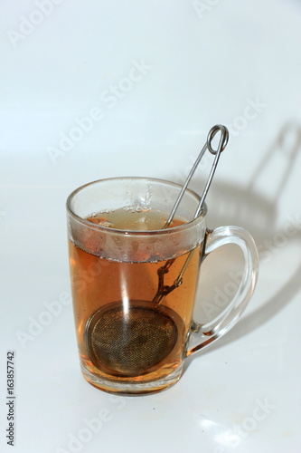 Fotografija Making tea with infuser