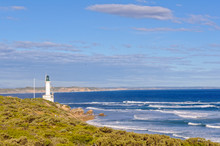 Point Lonsdale Lighthouse In Victoria At The Entrance Of The Port Phillip Bay Is One Of The Few Manned Lighthouses Remaining In Australia