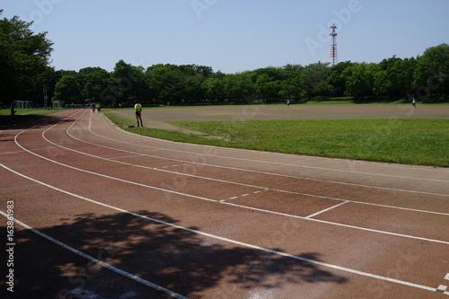Foto  Sportplatz Grand Staub Sport Sport Leichtathletik