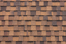 Brown Tiles Roof Background