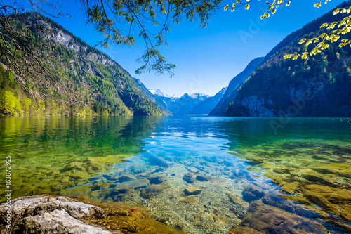 Tuinposter Alpen Königssee - Germany