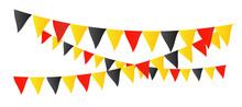 Fanions Tricolores (Drapeau Belgique)