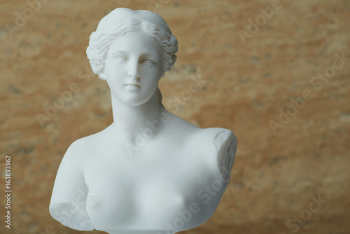 Canvas Prints Historic monument Statue of Aphrodite,ancient greek god of beauty.