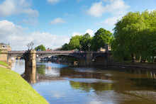 York England River Ouse Lookin...