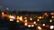 Bokeh lights shot of Berlin