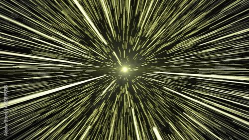 Gold Light Hyperspace