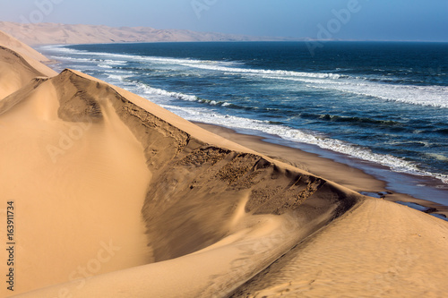 Tuinposter Kust Atlantic coast of Walvis Bay, Namibia