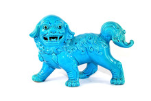 Vintage Chinese Foo Dog Dragon...
