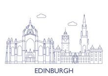 Edinburgh. The Most Famous Bui...