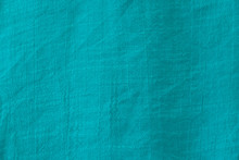 Turquoise Wool Fabric Texture