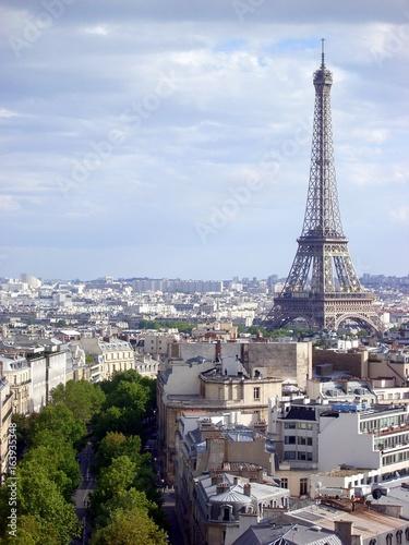 Papiers peints Paris エッフェル塔とパリの街