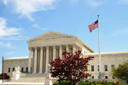 The US Supreme Court Poster