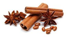 Cinnamon Sticks With Star Anise