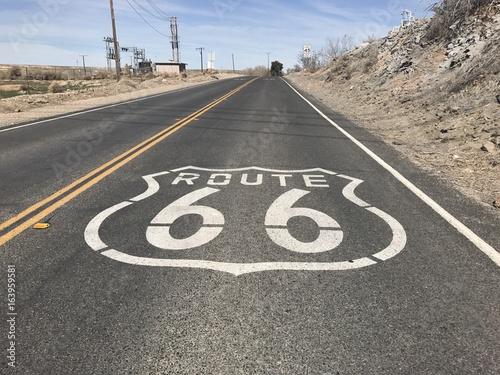 Foto op Plexiglas Route 66 Route 66