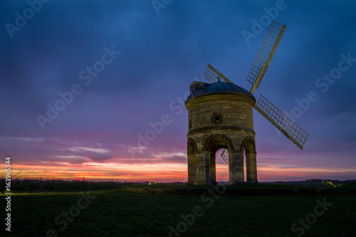 Sunrise at the Windmill Canvas