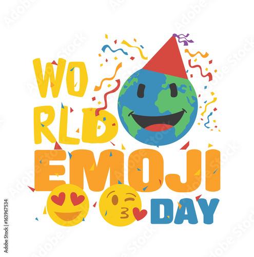 Foto  World Emoji Day Poster 1