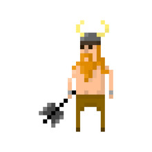 Pixel Barbarian For Games And Applications