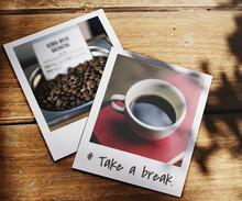 Take A Break Coffee Lover Word