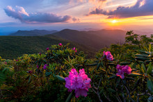 Sunset At The Blue Ridge Mount...