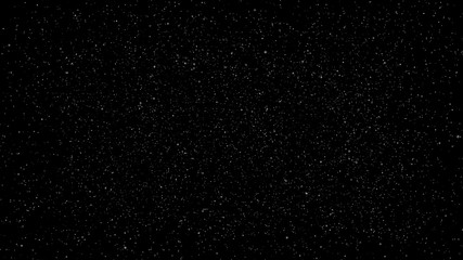 white particle on black background, star bokeh blur background dust motion graphic, fantasy Particle motion background