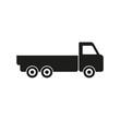 Truck vector icon.