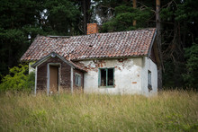 Dilapidated House In Sweden