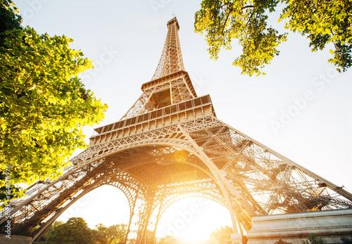 Poster de jardin Tour Eiffel Eiffel tower, Paris. France.
