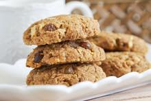 Vegan Almond Pulp Biscuits Wit...