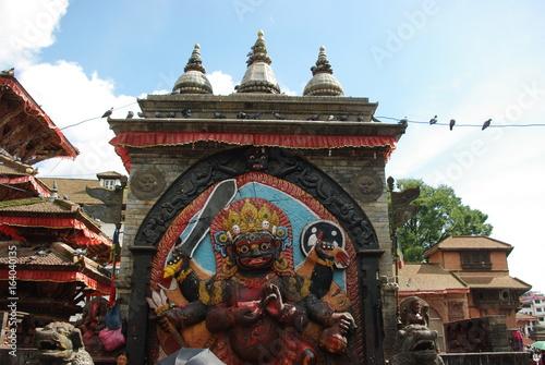 Views of the Monkey Temple in Kathmandu, Nepal