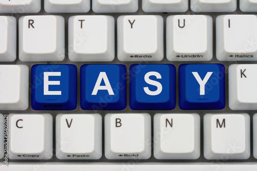 Fotografie, Obraz  Easy to do tasks on the internet
