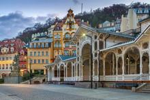 City Centre Of Karlovy Vary,Cz...