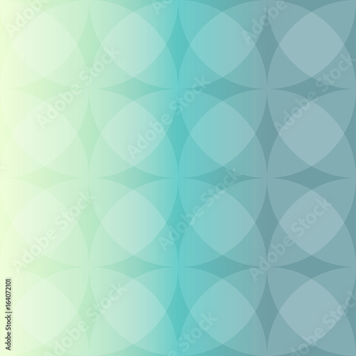 Valokuva  Yellow and green color vector background