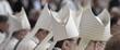 canvas print picture - Bischofsmützen MItra im Hochamt Gottesdienst