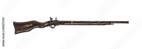 Fotomural Ancient long flintlock,old rifle