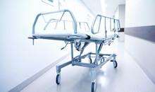 Hospital Gurney Or Stretcher At Emergency Room